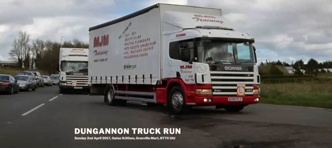 Dungannon Truck Run website screen shot