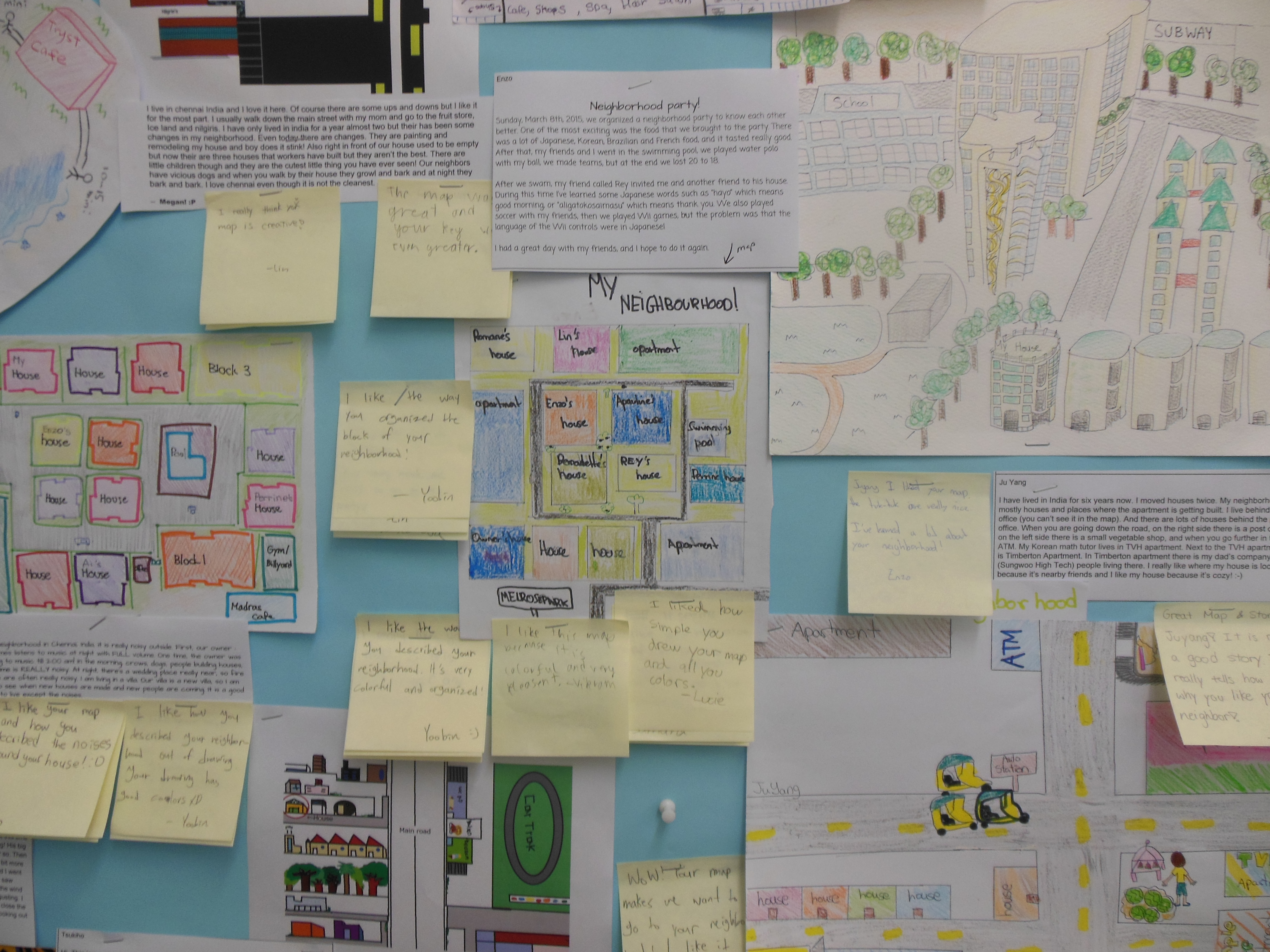 Gallery Walk Neighborhood Mapping Amp Storytelling Out Of Eden Project