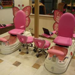 Butterfly Pedicure Chair Mesh Gaming Martini Nails And Spa Photo Gallery