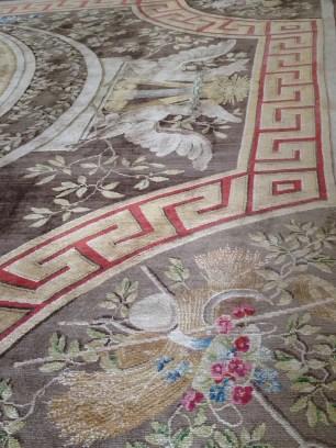 Détail : le tapis