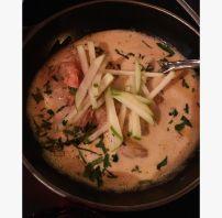 Crevettes sauce thaïe