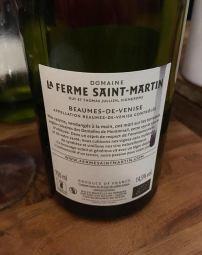 La Ferme Saint Martin, Beaumes de Venise