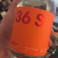 Review: 36 Short Blood Orange Gin