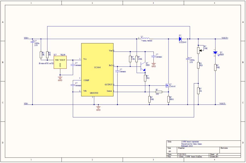 medium resolution of 150w boost