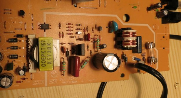 Denon Dvd 1720 Dvd Player Power Supply Schematic And Repair