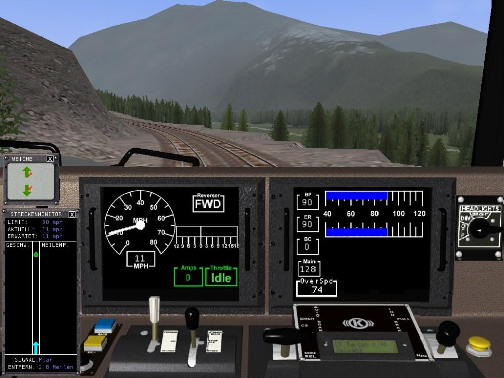 Martin spielt Train Simulator (2/2)