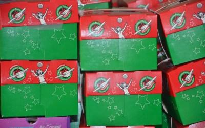Operation Christmas Child Shoeboxes 2018 – Good News! Great Joy!