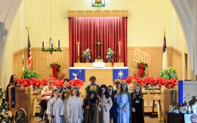 Christmas Eve at Martin Luther Church