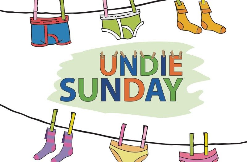 Undie Sunday AND Put Your Best Foot Forward – May Missions