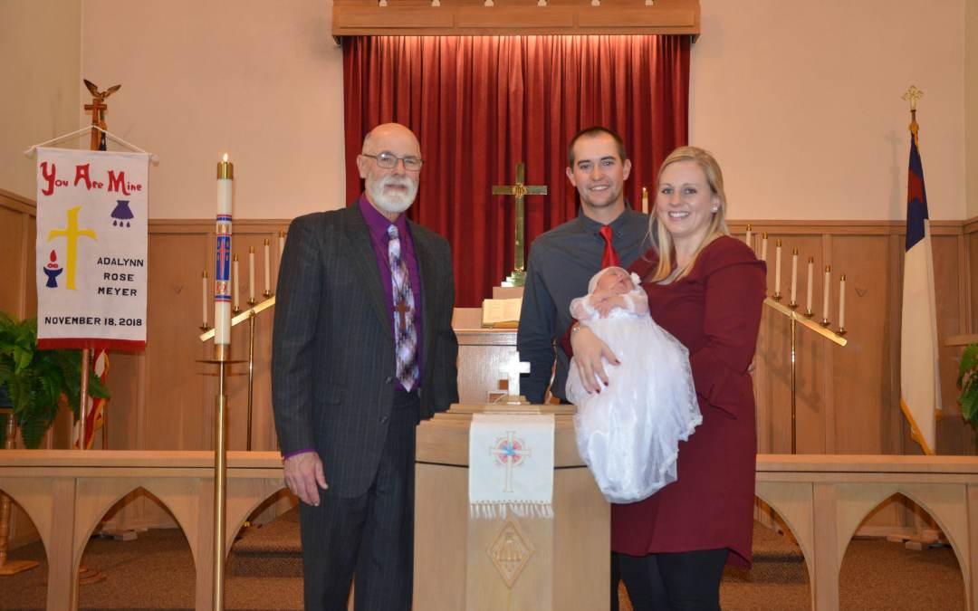Adalynn Rose Meyer – Baptism