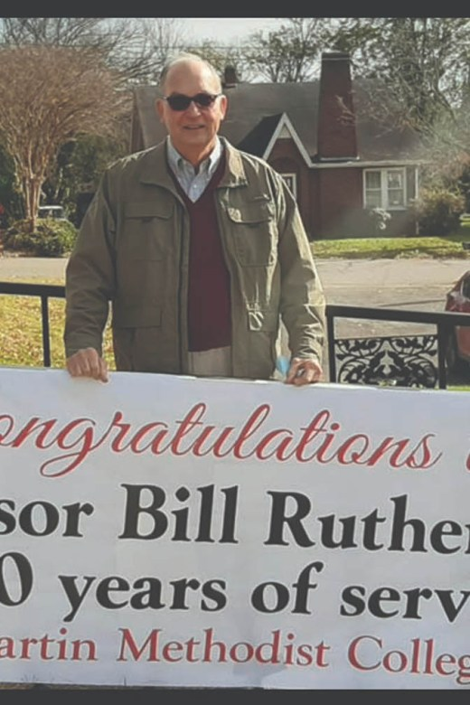 professor-bill-rutherford-50-years-service