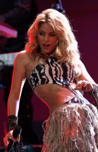 performs on stage during the FIFA World Cup Kick off Celebration Concert at the Orlando Stadium on June 10, 2010 in Johannesburg, South Africa.