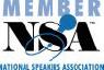 Member of National Speakers Association badge
