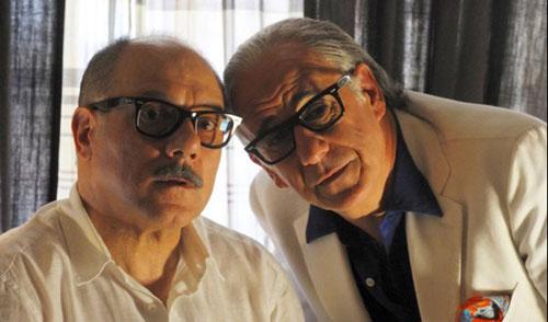 Carlo Verdone con Toni Servillo