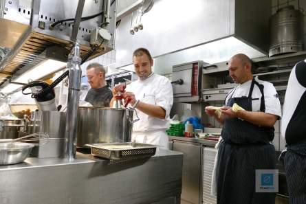Fleissiges arbeiten in der Küche