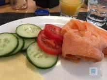 Das Frühstück im Hotel New Berlin