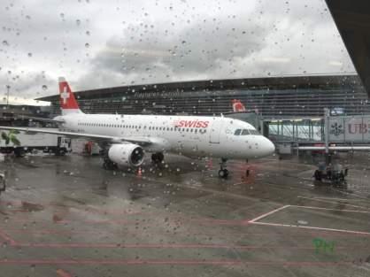 London 2016 mit Huawei - in Zürich regnete es noch fleissig