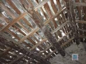 Das Dach vom Heuboden