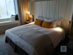 Mein Bett im Sofitel in München