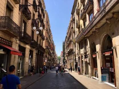 Spaziergang durch das Gotische Viertel