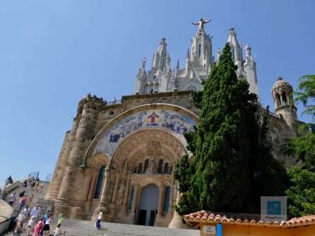 Die Kirche auf dem Tibidabo
