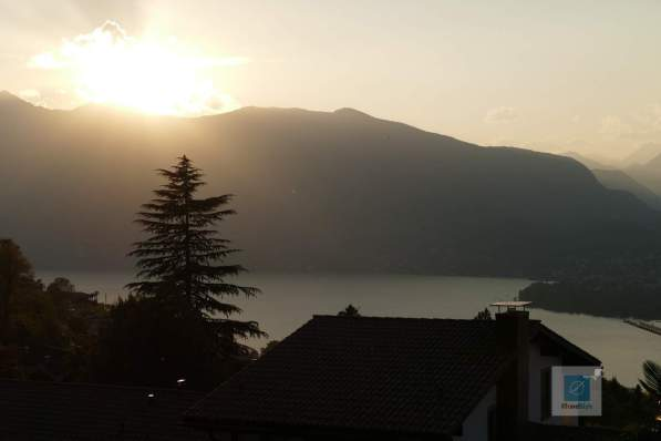 Sonnenuntergang in Piazzognia