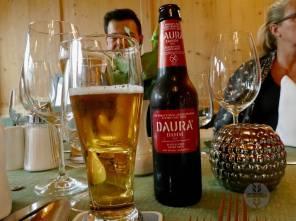 Zur Abkühlung ein Bier