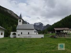 Die kleine Kirche von S-charl