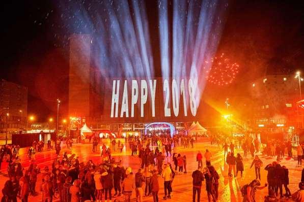 Silvesterfeier 2017/2018 auf der Eisplanade