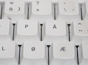 Norwegian keyboard