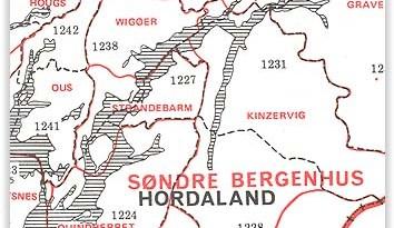 Old boundaries in Norway