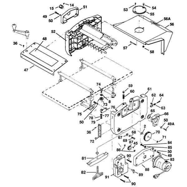 514271 Planer 2hp Electric Motor Euro 240v Doerr
