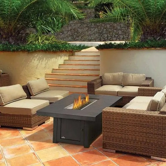 outdoor fire tables fireplaces