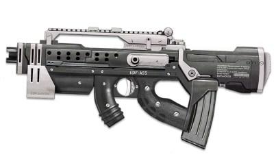 EDF Assault rifle for Duke Nukem Begins.