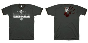 A T-Shirt I designed for the team during a very short new direction to Brothers In Arms.