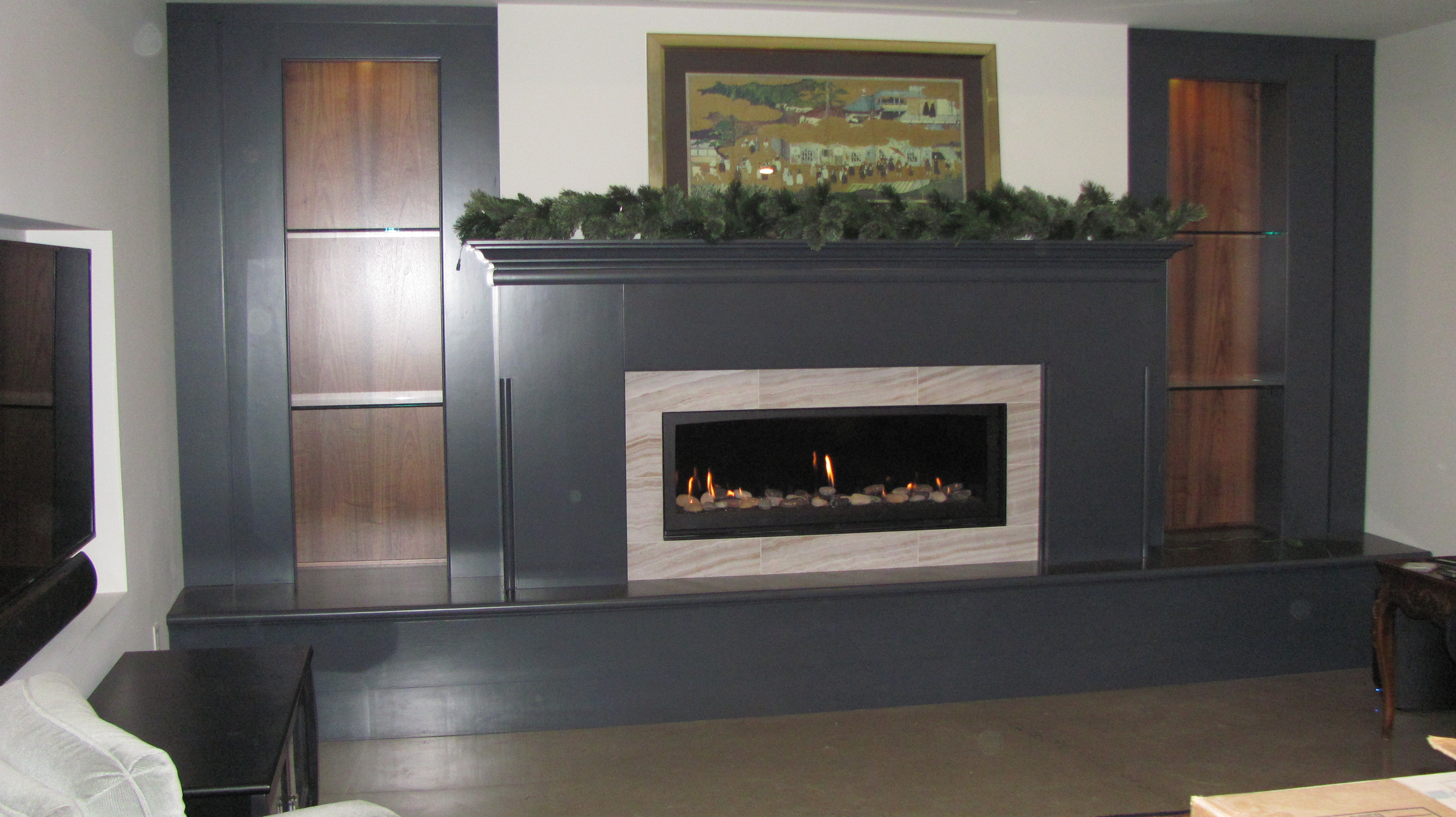 Linear Fireplaces  Martins Fireplaces