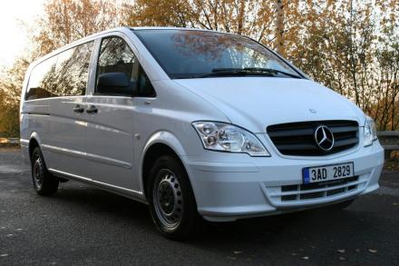 Comfortable, stylish and spacious Mercedes Benz Minivan
