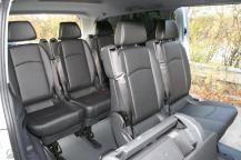 Mercedes Benz minivan seating