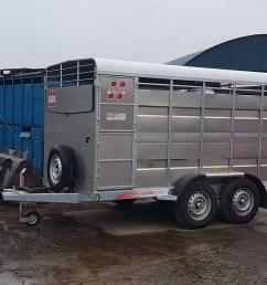 hudson 12 x 6 cattle trailer  [ 4032 x 3024 Pixel ]