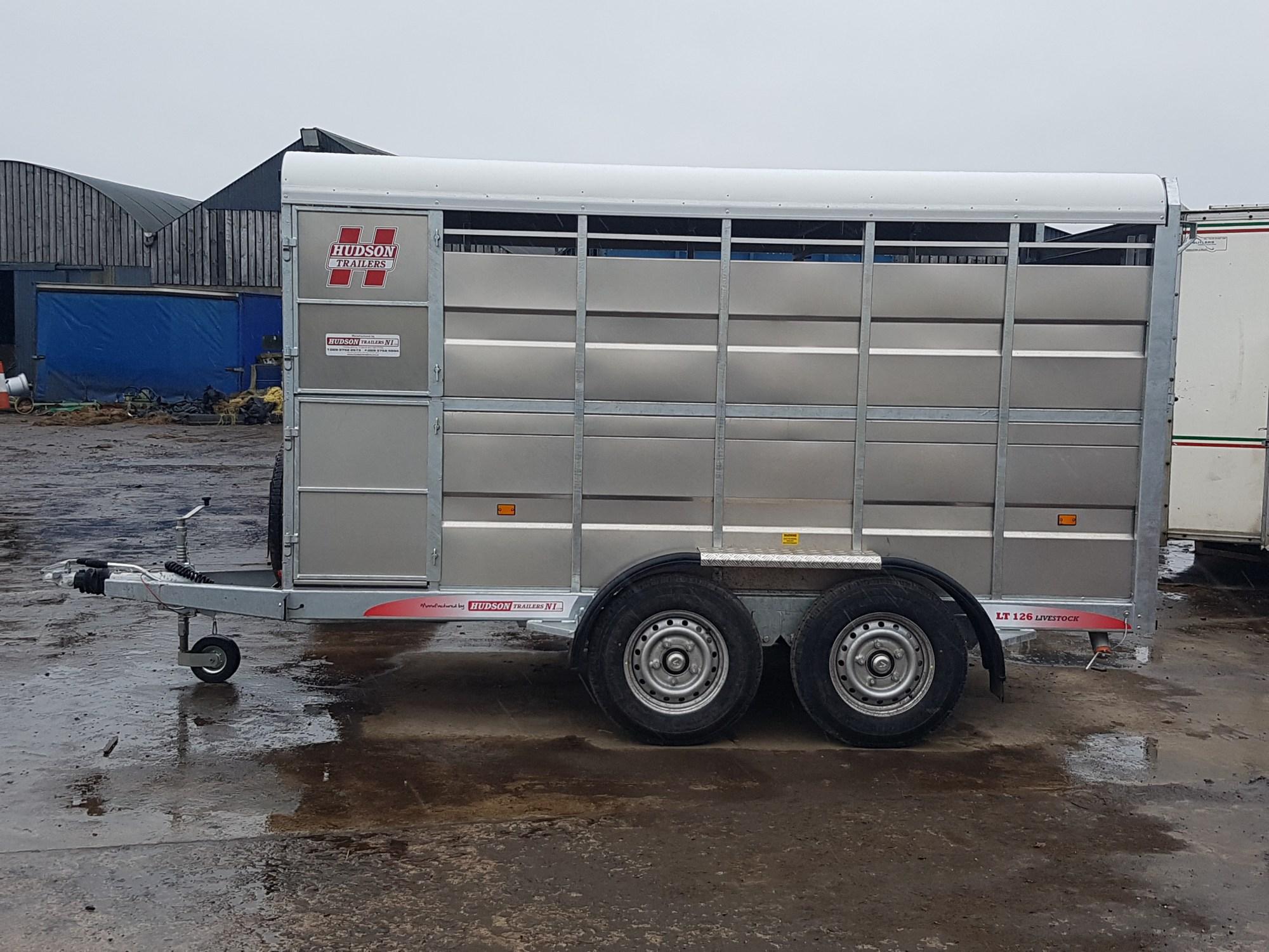 hight resolution of hudson 12 x 6 cattle trailer