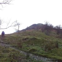 Two Berks on Birks and Arnison Crag, two wet and windy Wainwrights