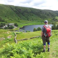 A Wander Round the Watendlath Wainwrights - Grange Fell, High Tove, Armboth Fell, High Seat, Bleaberry Fell and Walla Crag from Grange