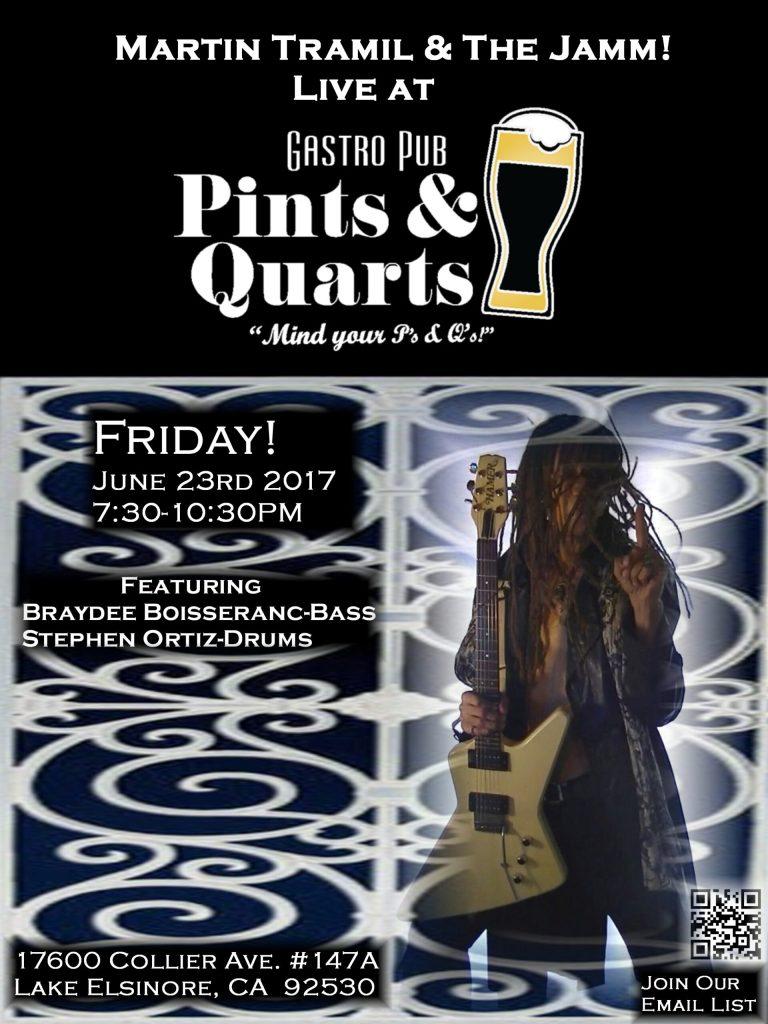 Saturday Night Blues Jamm Pints & Quarts!