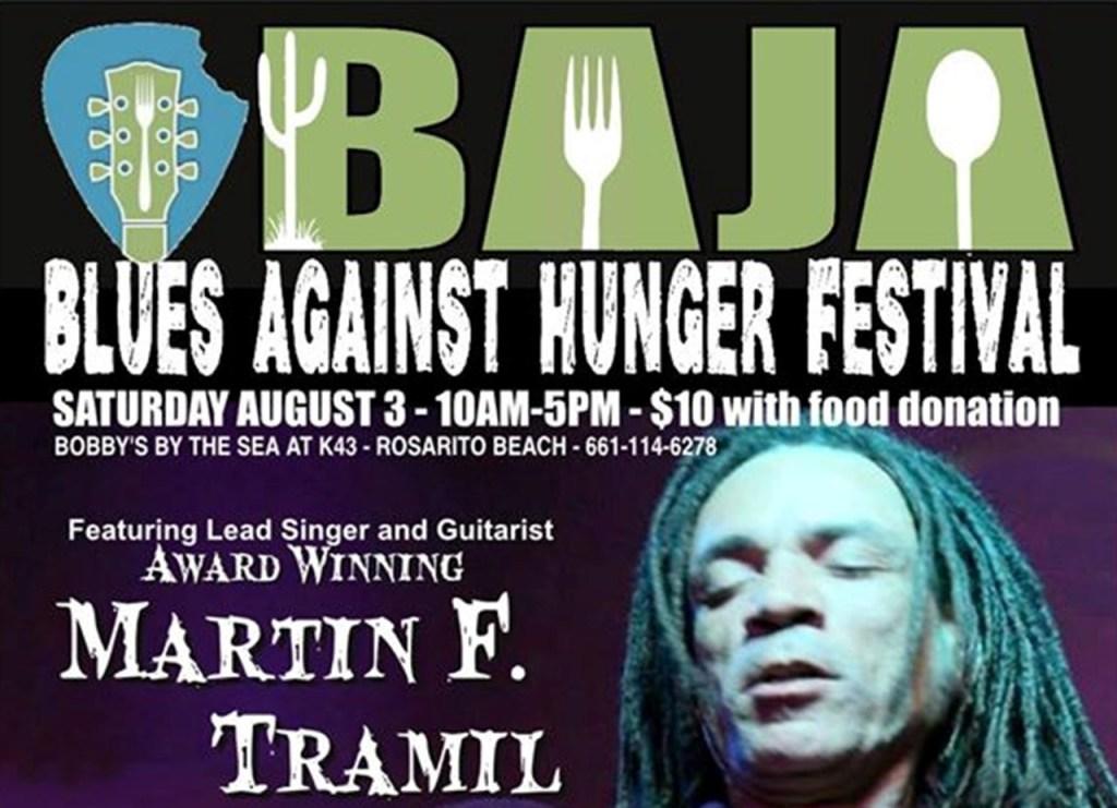 Blues Against Hunger Festival August 3rd