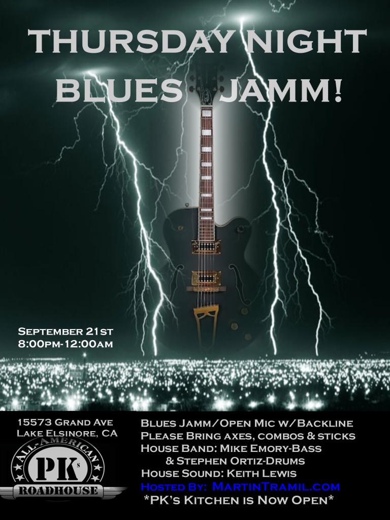 Thursday Night Blues Jamm!