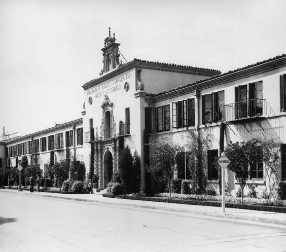 Paramount Studios, Los Angeles, 1930