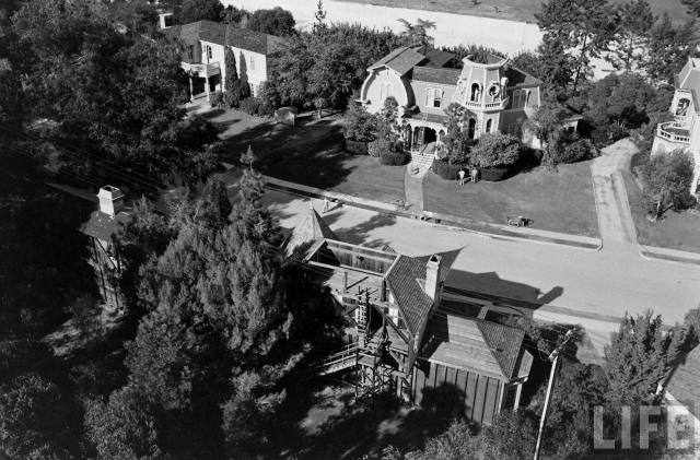 1313 Mockingbird Lane - the home of TV's The Munsters, Universal Studios, 1963