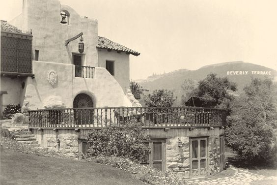 Home of early Hollywood titan Thomas Ince on Benedict Canyon Dr, Beverly Hills.