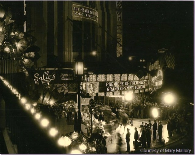 Opening of Warner Bros' Western Theater - aka Wiltern Theatre - October 7, 1931