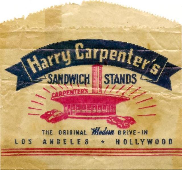 Carpenter's Sandwich Bag